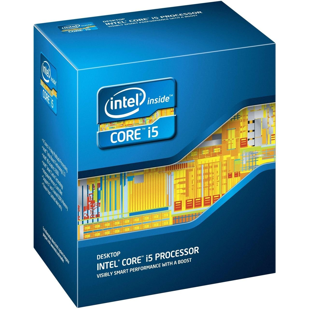 Intel Core i5-4430 Quad-Core Desktop Processor 3.0 GHz 6 MB Cache LGA 1150 - BX80646I54430 by Intel
