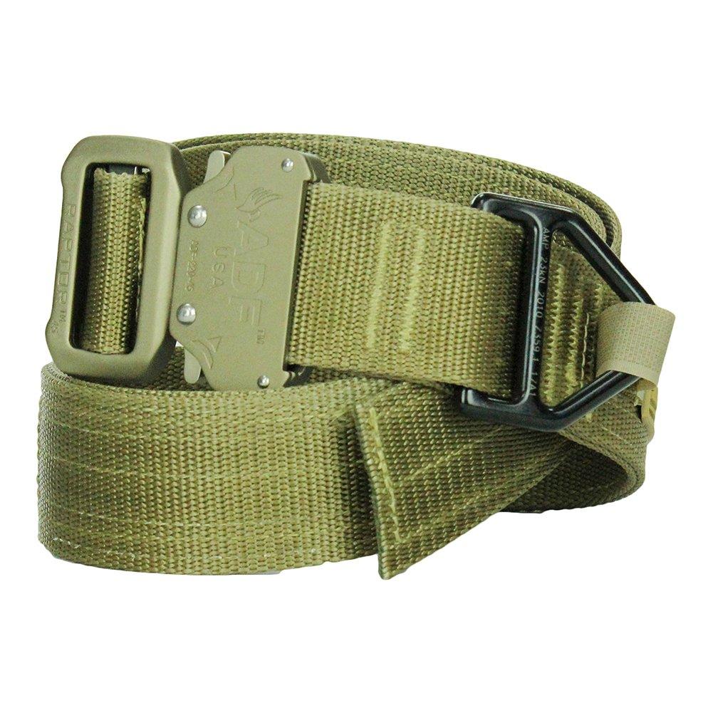 "Raptor II Tactical Military Quick Release 1/"" Belt Buckle Gold"