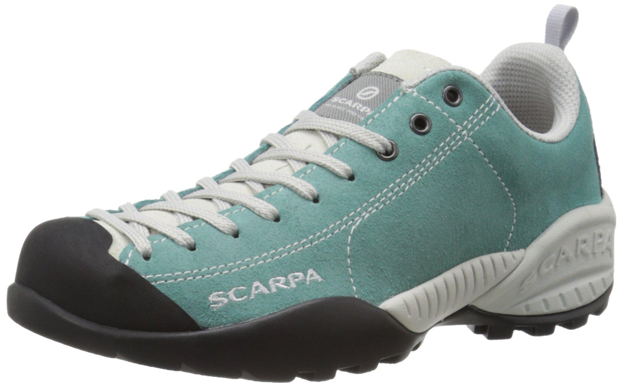 SCARPA Women's Mojito Casual Shoe, Lagoon, 37.5 EU/6.5 M US
