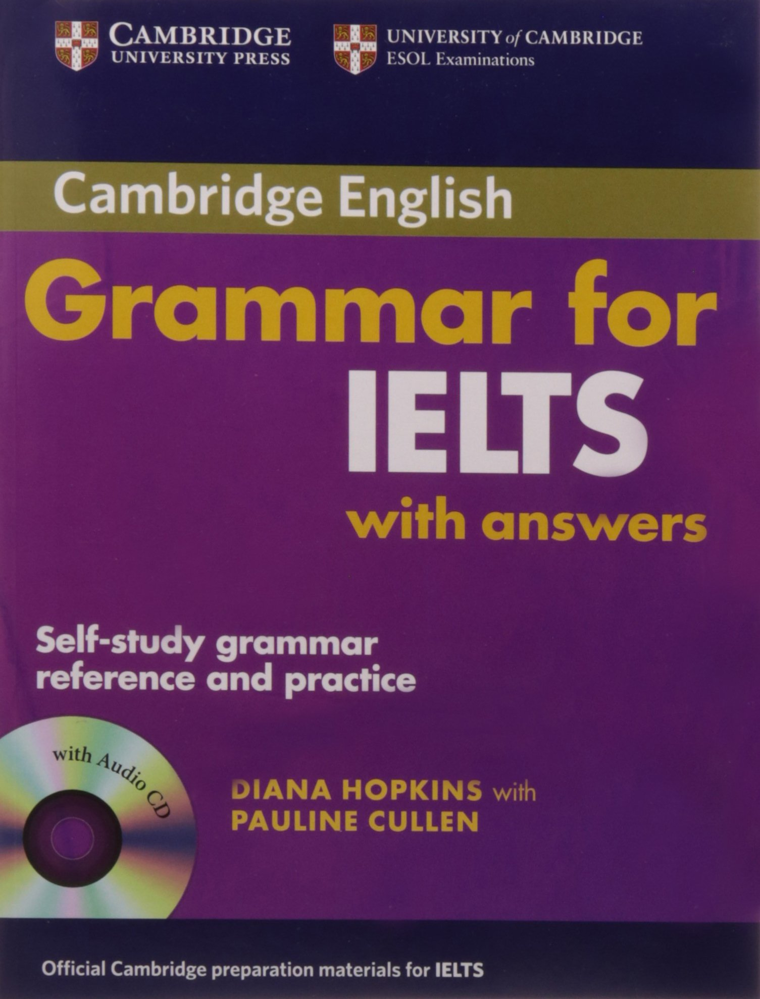 Cambridge Grammar for IELTS with Answers and Audio CD: HOPKINS:  9780521706117: Amazon.com: Books