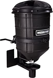 Moultrie ATV Spreader – Manual Feed Gate, Black, 20.4 x 31.4 x 20.4 inches