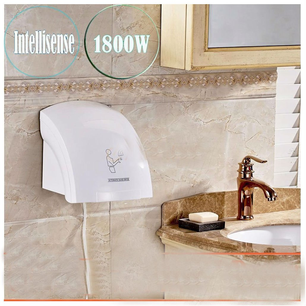 Hotel Automatic Infared Sensor Hand Dryer Household Bathroom Hands Drying Device