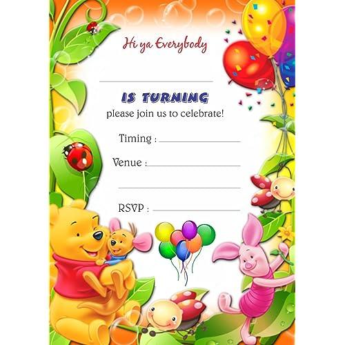 Birthday Invitation Cards: Buy Birthday Invitation Cards