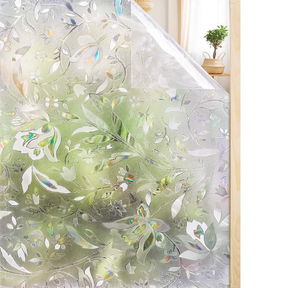 3d window films privacy film static decorative non. Black Bedroom Furniture Sets. Home Design Ideas
