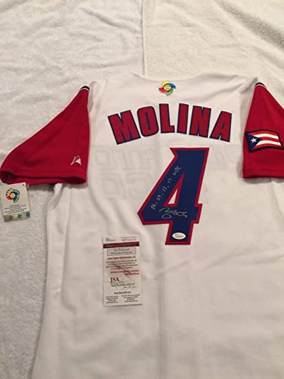 30dc9a93 St. Louis Cardinals Yadier Molina Autographed Signed Inscribed 06 ...