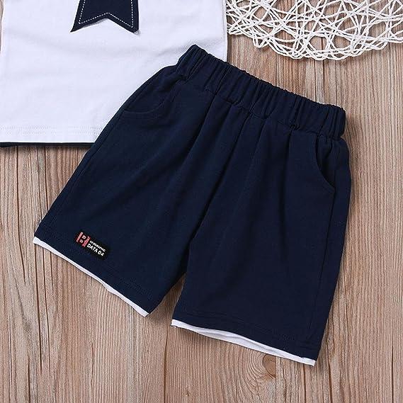 Amazon.com: Shirts Pants, 0-3 Years Old Boys Star Shirts Shorts Baby Infant Summer Outfits: Clothing