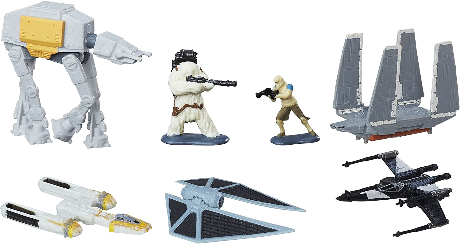 Star Wars Micro máquinas Assault on Scarif Rogue One Pack: Amazon ...