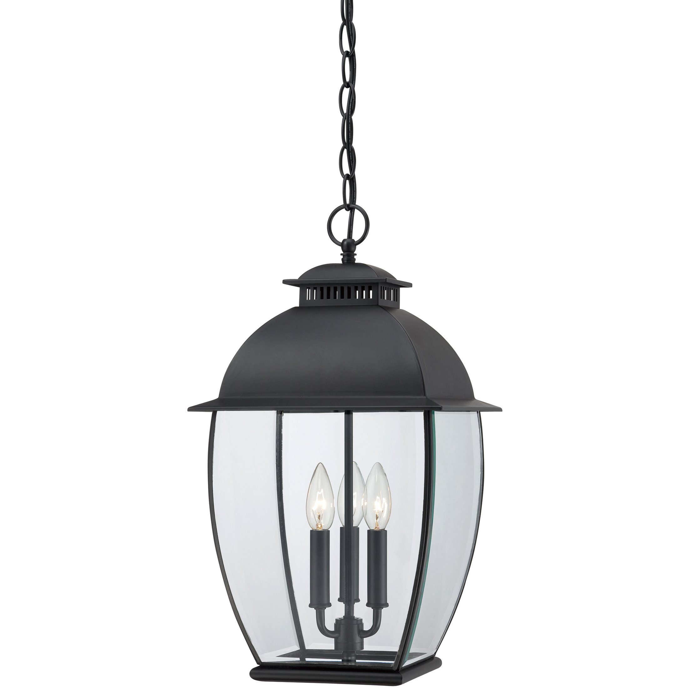 Quoizel BAN1911K Three Light Outdoor Hanging Lantern by Quoizel