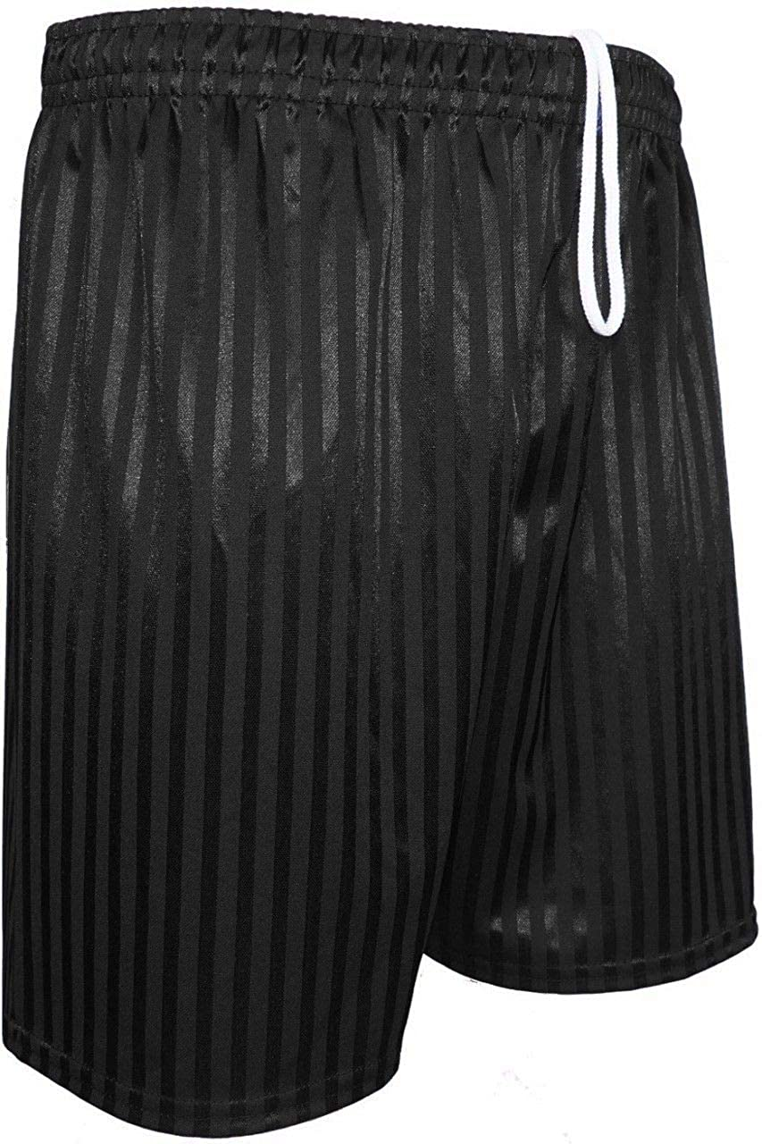 marajah Unisex Boys Girls Kids Childrens School Sports Shadow Stripe PE Football Shorts