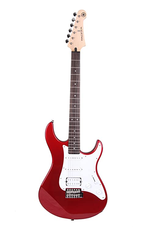 Yamaha Pacifica 012 Full Size Electric Guitar, Red Metallic