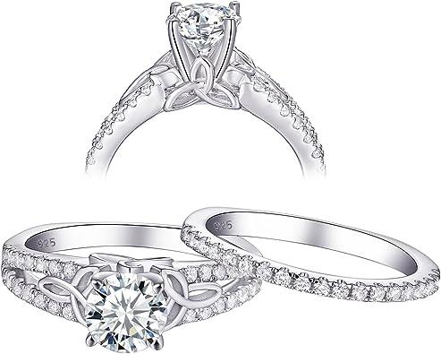 2ct Round Cut Luxury Topaz Cz Band Women/'s 925 Silver Wedding Ring Size 5-10