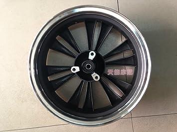 Batería de coche trasera para coche rueda de aluminio 125 ruedas delanteras puede ser equipado con: Amazon.es: Jardín