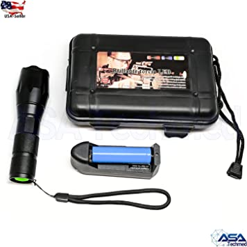 Tactical Military LED Flashlight Torch 50000LM Zoomable Outdoor//AAA battery lamp