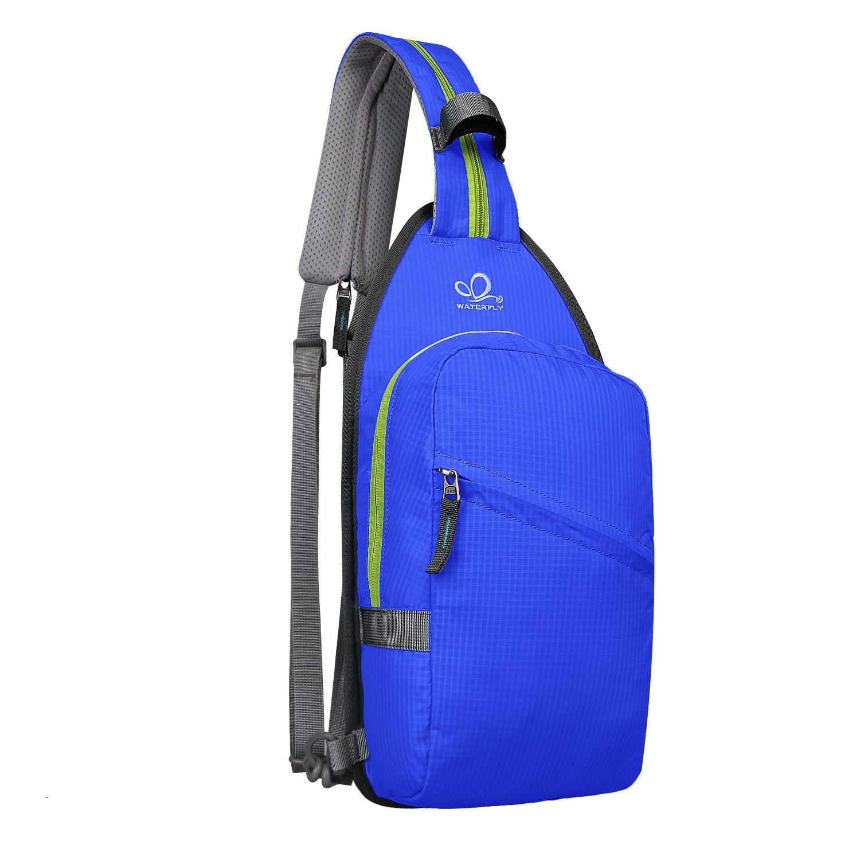 Official Website 1 Piece Waterproof Portable Fold Zipper Soild Nylon Ultralight Traveling Women Men Shoulder Bags Folding Backpack Lustrous Backpacks Luggage & Bags