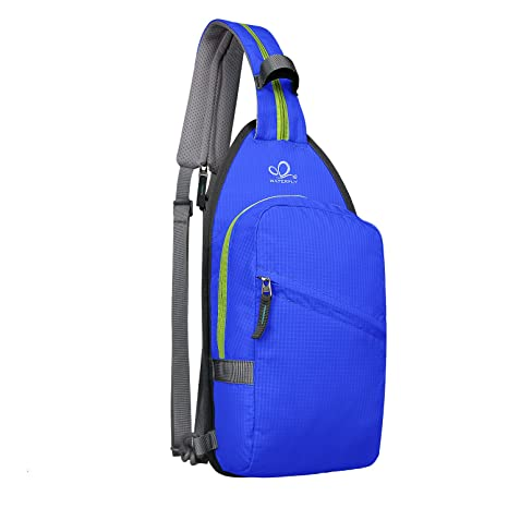 232d1e6fa474 Amazon.com  Waterfly Dual Sling Bag Lightweight Crossbody Sling Backpack  Convertible Daypacks for Man Women Lady Girl Teens  Sports   Outdoors