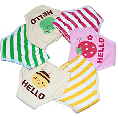 Collager 2pcs 4-layer Toddlers Baby Boys Girls Breathable Cotton Training Pants