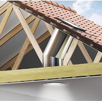 Velux – Claraboya flexible para azulejos para tejado TWF: Amazon ...