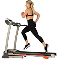 Deals on Sunny Health & Fitness Folding Treadmill w/Device Holder