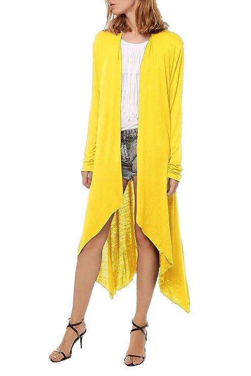 Meaneor Mujer blusa camiseta finos largos de la protección del sol rebeca ropa tops: Amazon.es: Ropa y accesorios