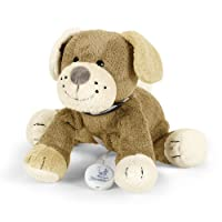 Sterntaler orsetto di peluche a forma di cane con carillon musicale integrato, di colore marrone