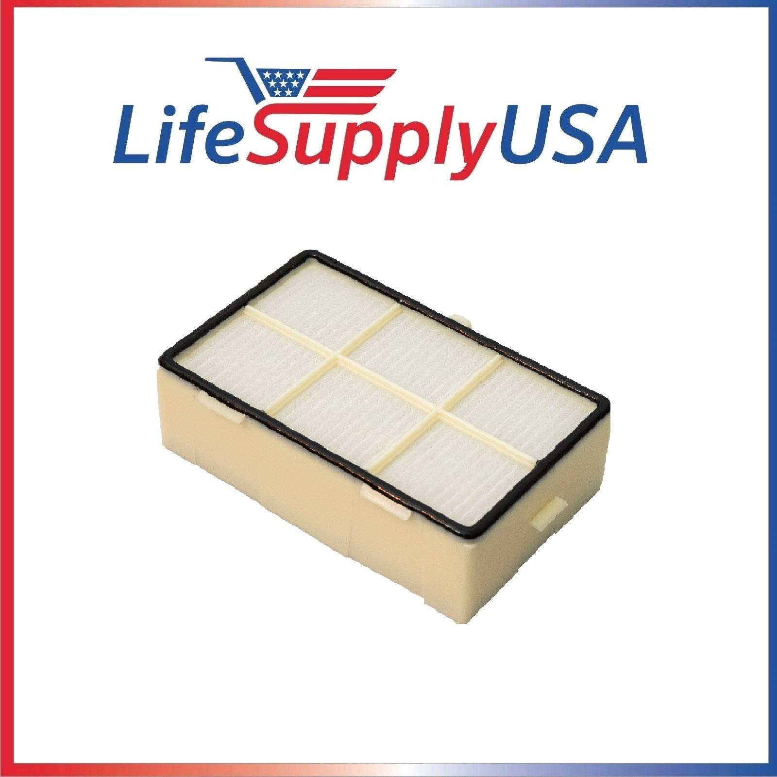LifeSupplyUSA 10 Pack Replacement HEPA Filter fits Dyson AirBlade Hand Dryer 910112-04, 920336-01, 965359-01, 925985-01, 925985-02, 910112-01, AB01, AB02, AB03, AB04, AB06, and AB15