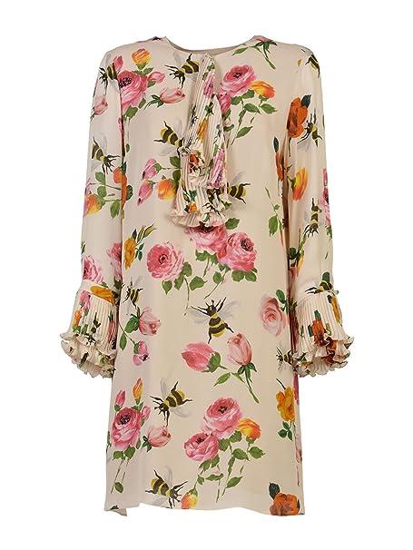 GUCCI - Vestito - Donna multicolore 42  Amazon.it  Abbigliamento f8a599b52152