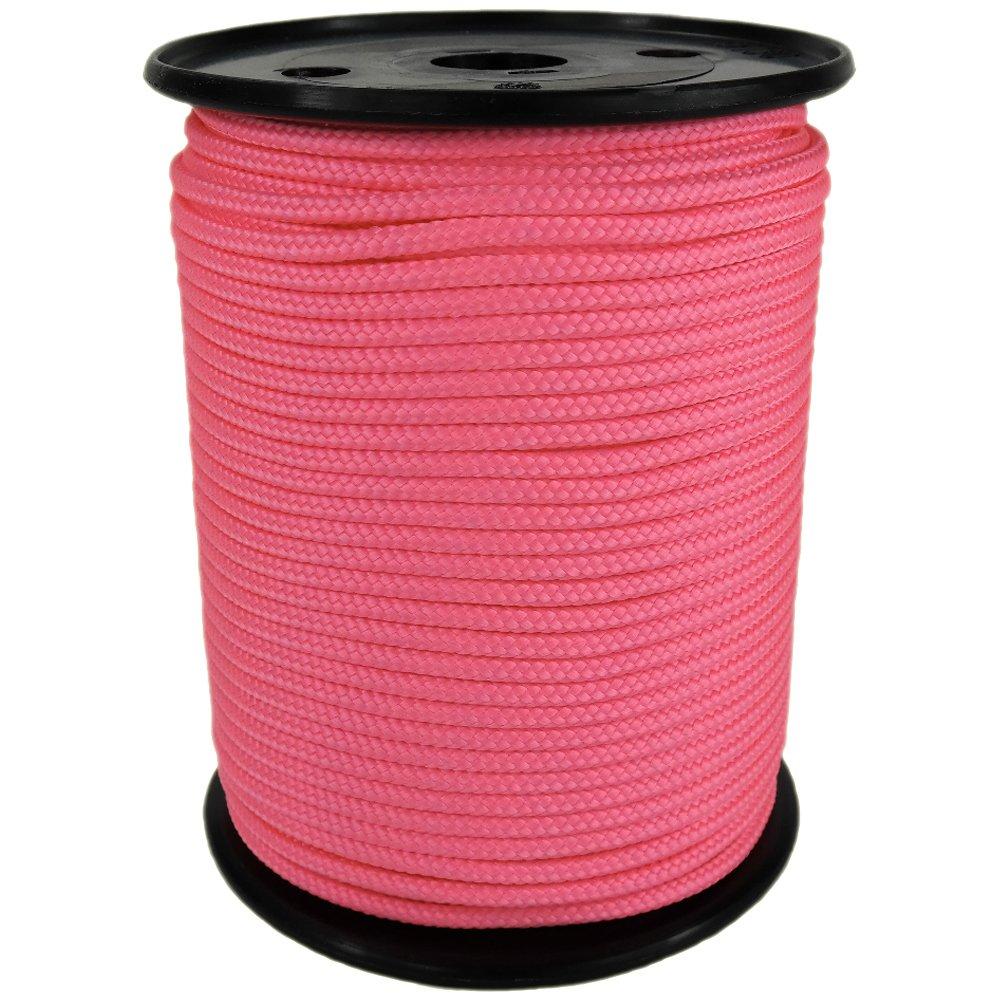 PP Seil Polypropylenseil SH 10mm 100m Farbe Rosa (4028) Geflochten