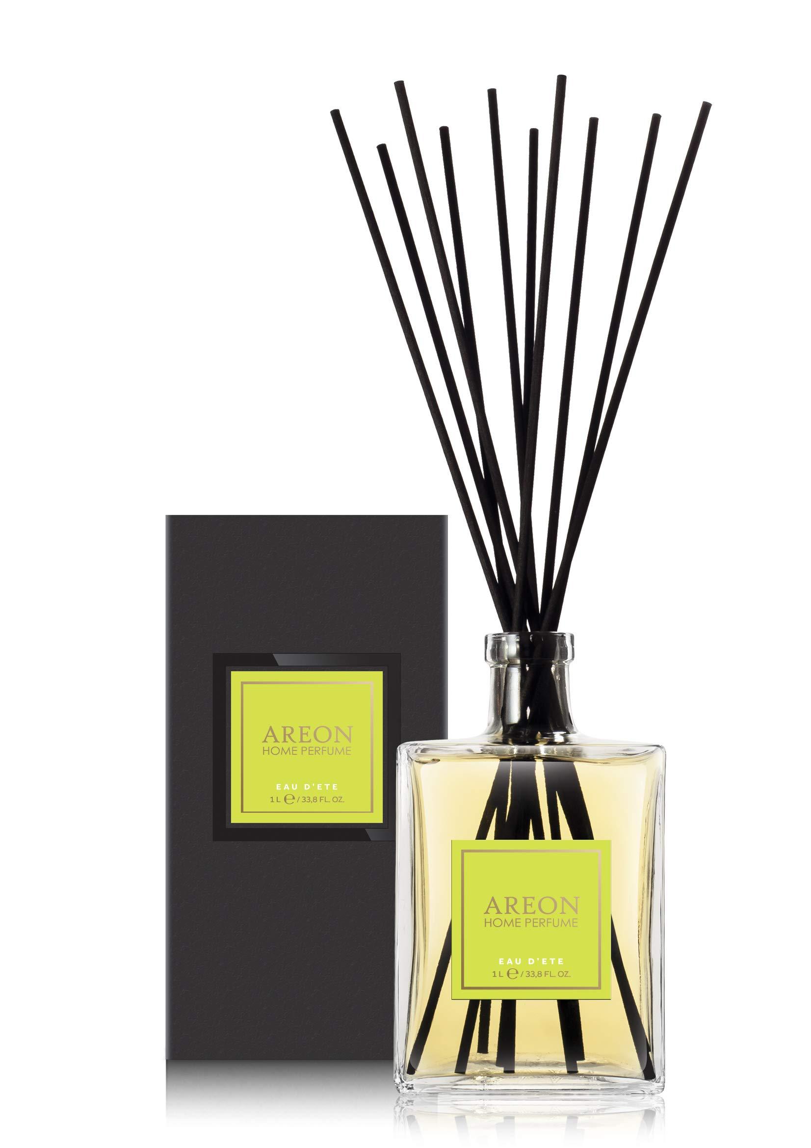 Areon Home Perfume Sticks - 1 Liter (34 OZ) Eau D' ETE
