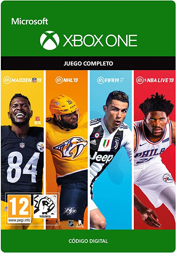 EA SPORTS 19 BUNDLE Bundle | Xbox One - Código de descarga: Amazon ...