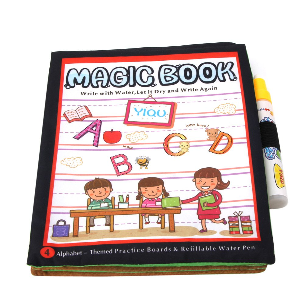 Magic Water Drawing Book Kids Intimate Painting Board with Pen Educational Toy