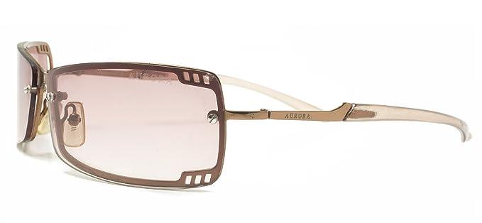 Italia Diseño Aurora marrón lente señoras gafas de sol UV400 ...