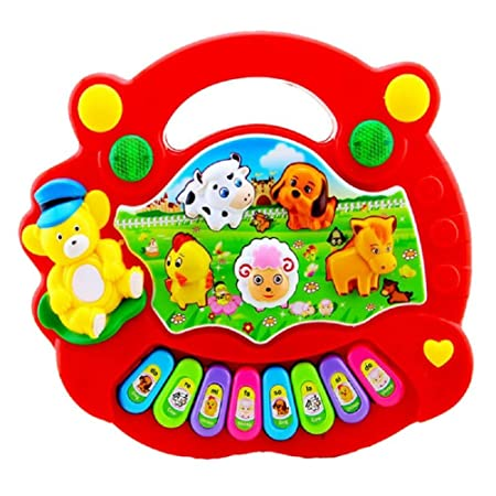 Kids Baby Educational Animal Piano Developmental Toys Musical Farm Music Gift UK