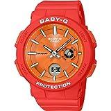 CASIO 女式模拟数字石英手表树脂表带 BGA-255-4AER