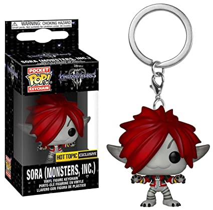 Amazon.com: Funko Pop Keychain: Kingdom Hearts 3 - Sora ...
