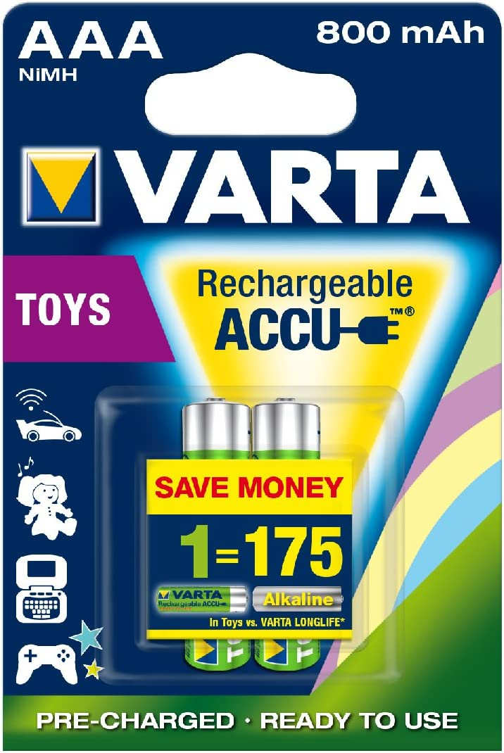 Varta Rechargeable Accu Power Vorgeladener Aaa Micro Elektronik