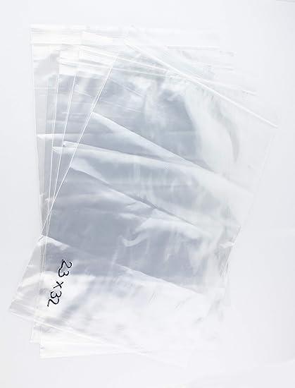 Bolsa de plastico autocierre 23 x 32 cm (1000 Unidades ...