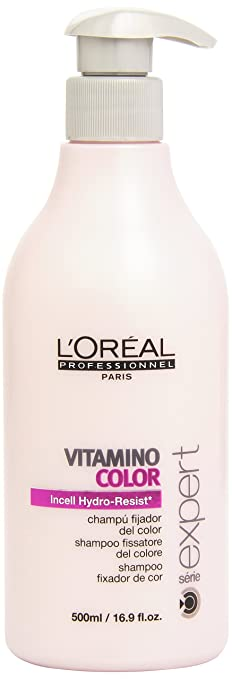loreal series expert vitamino color shampoo 169 ounces bottle - Shampooing Vitamino Color