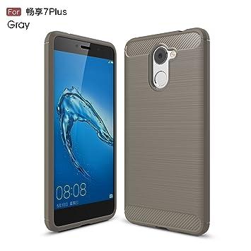 GHC Cubiertas y Estuches, para Huawei Y7 Prime/Enjoy 7 Plus ...