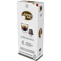 Cápsulas de Café Cremoso Espresso Italia, Compatível com Nespresso, Contém 10 Cápsulas