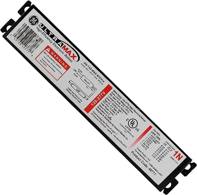 GE GE132MAX-N/ULTRA BALLAST (49771) - Electrical Ballasts - Amazon.com