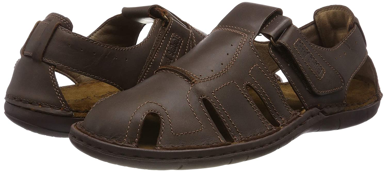 Josef Seibel Mens Paul 15 Closed Toe Sandals