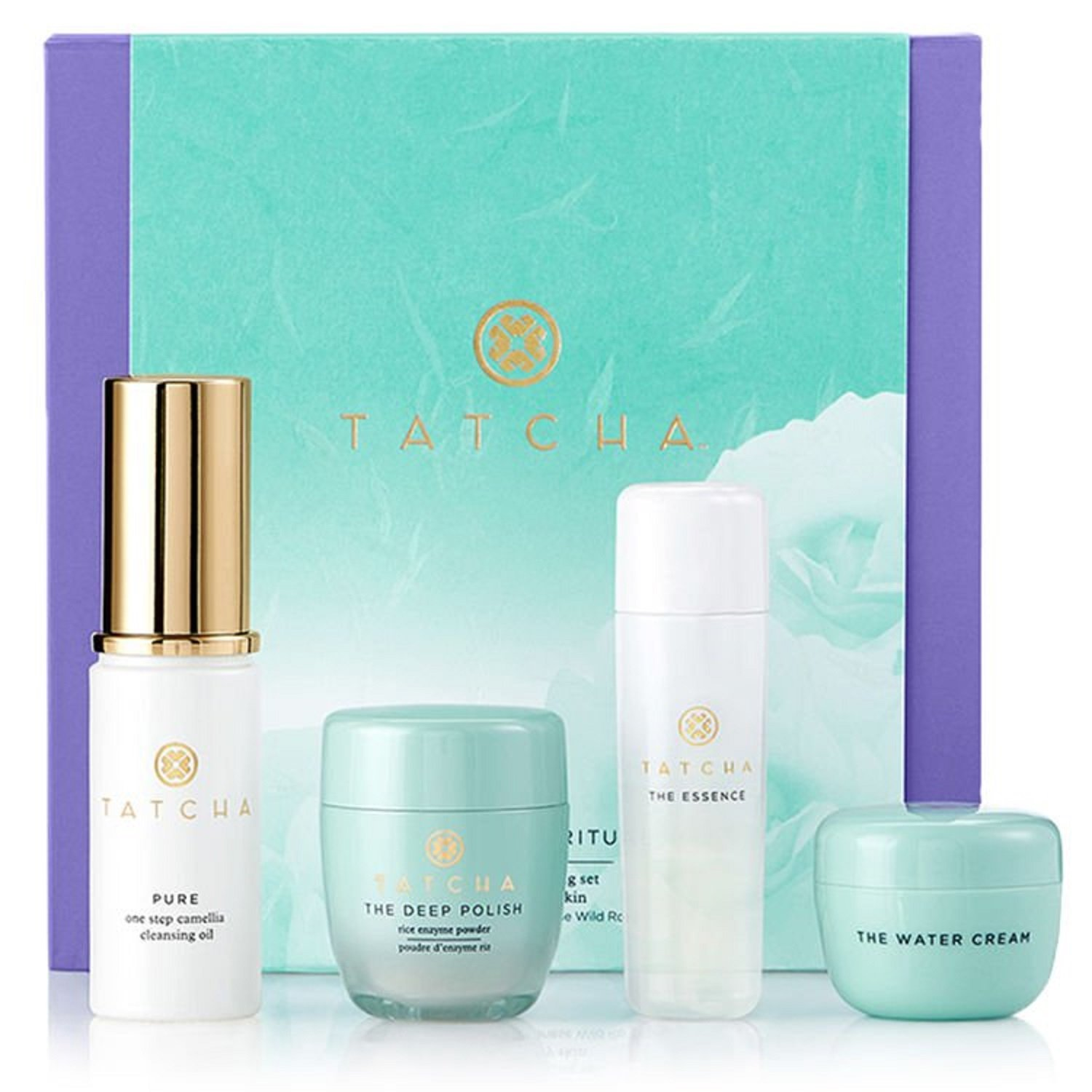 Tatcha The Starter Ritual Set - Balancing for Normal to Oily Skin by Tatcha (Image #1)