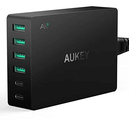 Review AUKEY Amp USB Wall