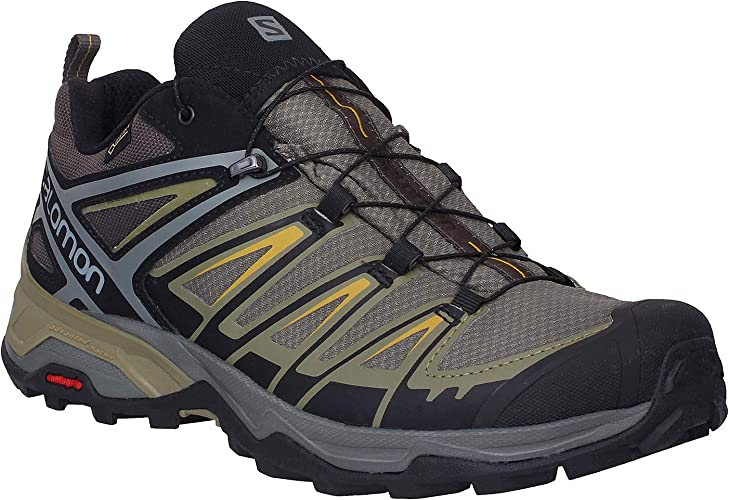 SALOMON Herren X Ultra 3 GTX Trekking & Wanderhalbschuhe, grün, 40 23 EU