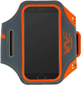 Wave concept Brazalete Deporte Smartphone Brazalete Multi-Rangement Neopreno Impermeable – Talla XXL – Naranja: Amazon.es: Electrónica