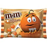 M&M'S White Chocolate Pumpkin Pie Halloween Candy 8-Ounce Bag