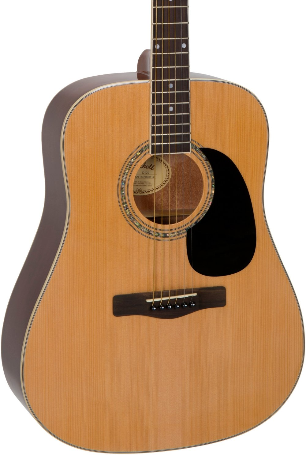 Mitchell D120 Dreadnought Acoustic Guitar Natural by Mitchell