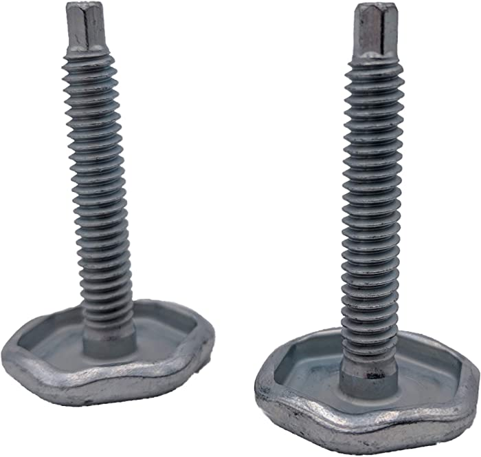 Supplying Demand WD12X23057 2 Pack Screw Leveling Legs For Dishwasher WD12X10417
