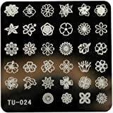 Willtoo 2016 DIY Nail Art Image Stamp Stamping Plates Manicure Template 14