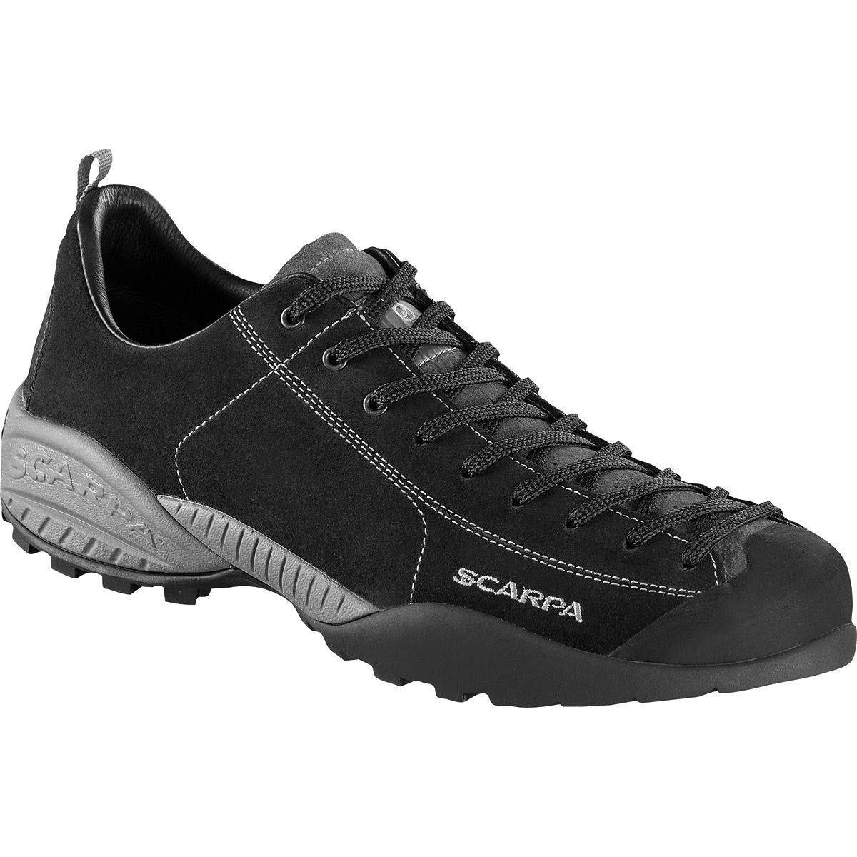 Scarpa Schuhe Mojito Leder Größe 41 midgrau